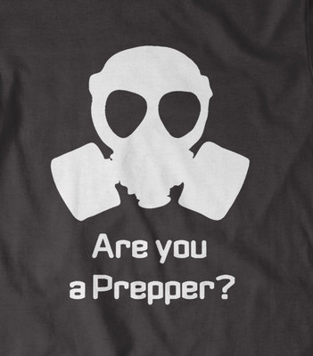 Are you a Prepper? Doomsday Tshirt  in all colours and sizes