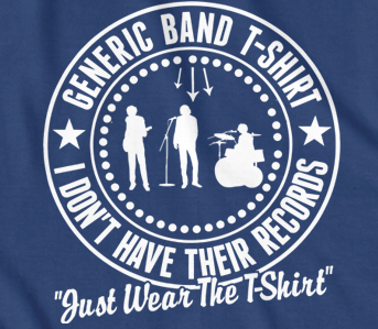 The Generic Band T-shirt